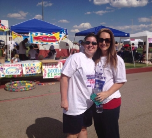 Sara & Tina, 2013 Relay For Life of Las Vegas